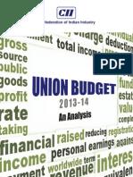 Budget Analysis 2013 b