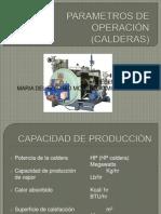 CALDERAS PARAMETROS DE OPERACIÓN