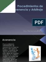 Procedimientos de Avenencia y Arbitraje.pptx
