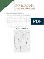 Barcelona Romana - información