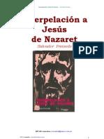 Salvador Freixedo - Interpelación a Jesús de Nazaret