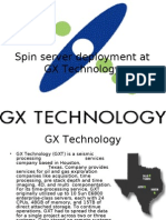 Spin Server Deployment at GX Technology