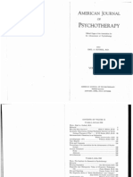 American Journal of Psychotherapy 1948