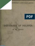 Dictionary of Volapuk