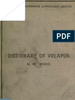Dictionary of Volapuk