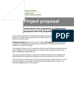 Project Proposal Instructions