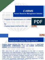 C HRMS Presentation