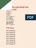 Unicode and TTF Fonts