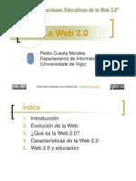 La web 2.0 por Pedro Cuesta