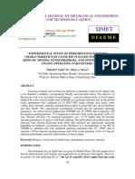 Experimental Study of Performance-emission Characteristics of Ci Engine Fuelled