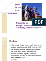 Mendoza_IP Women Insights on the Peace Process