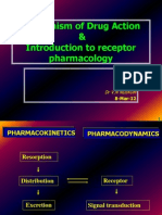- Mechanism of Drug Action&Introduction to Receptor Pharmacology-05mars2012