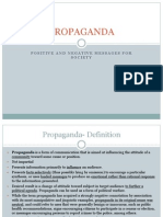 Introduction to Propaganda 2012