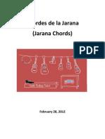 Acordes de La Jarana