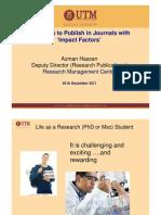 Strategies to Publish
