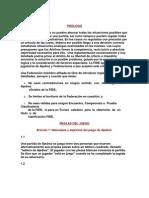 Reglas Del Ajedrez 1