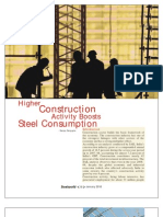 Steel Demand in Industries