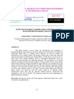 Fuzzy Rule Based Classification and Recognition of Handwritten Hindi
