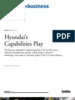 Hyundais Capabilities Play
