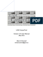 UAM Corpus Tool Manual v2.8