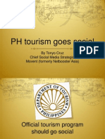 Philippine tourism goes social