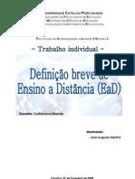 PA_U2_S3_Definição Breve de Ensino a Distancia