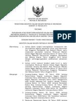 Permendagri No. 16 Tahun 2013 Perubahan Permendagri Tentang Penyusunan APBD 2013