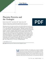 Placenta Percreta and Urologist