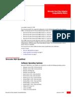 HBA Comp Matrix 09010