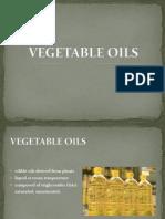 List of Vegetable Oils