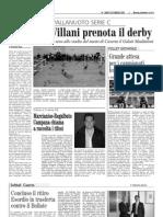 IL CIRCOLO VILLANI PRENOTA IL DERBY