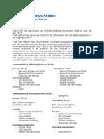 PvdA Amsterdam Centrum jaarverslag 2012