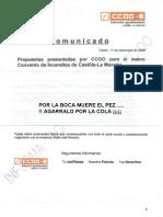Propuestas Para El Nuevo Convenio de Incendios de Castilla La Mancha