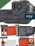 40 Jahre Dorfbühne Weer - Booklet