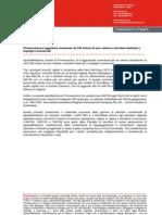 Finmeccanica si aggiudica commesse da 350 milioni di euro relative a elicotteri destinati a impieghi commerciali
