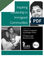 Inspiring Leadership in Immigrant Communities