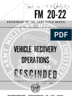 Army Vietnam Vehicle Recovery Operations