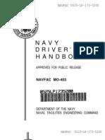 Navy Driver's Handbook