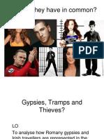 Romany Gypsies and Irish Travellers