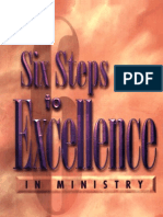 Six Steps to Excellence in Ministry Kenneth Copeland
