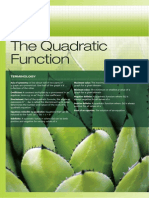 Ch10 the Quadratic Function