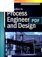 Intro to Process Engg and Design Thakore & Bhatt