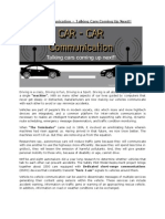 Cars Communication