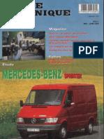 RTA Mercedes Sprinter 1995 2000, moteur OM 601 et OM 602