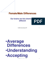 Female Male Differences