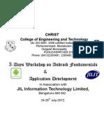 Android Workshop Banner