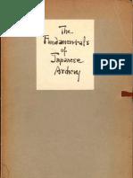 [Kyudo] Acker - The Fundamentals of Japanese Archery [1 PDF]