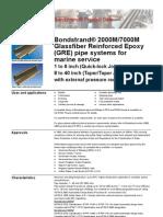 FP918C Bondstrand 2000M-7000M Inc Taper Taper 01.08.11