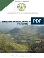Rwanda National Agriculture Survey 2008