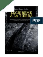 Moreno, N.- Escribeme a la tierra -Torrijo de la Cañada